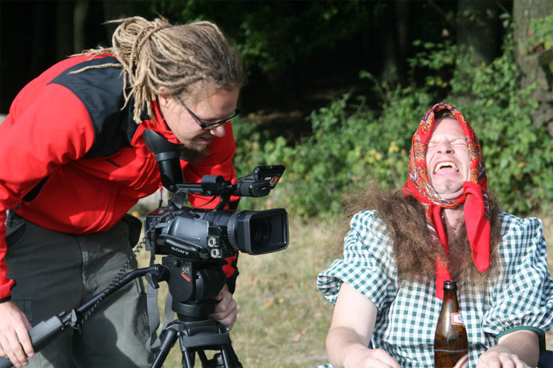 kameramann berndl und oma gü